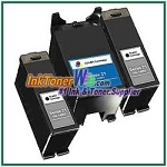 Dell Series 21 Compatible ink Cartridges - 3 Piece Combo