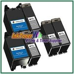 Dell Series 21 Compatible ink Cartridges - 6 Piece Combo