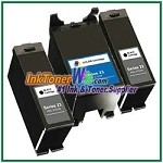 Dell Series 23 Compatible ink Cartridges - 3 Piece Combo