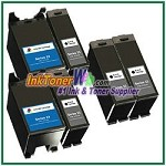 Dell Series 23 Compatible ink Cartridges - 6 Piece Combo