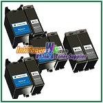 Dell Series 23 Compatible ink Cartridges - 8 Piece Combo