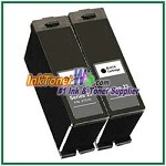 Dell Series 23 Compatible Black ink Cartridge -2 Piece