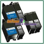 Dell Series 24 Compatible ink Cartridges - 6 Piece Combo