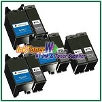 Dell Series 24 Compatible ink Cartridges - 8 Piece Combo