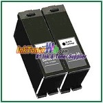 Dell Series 24 Compatible Black ink Cartridge -2 Piece