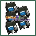 Dell Series 24 Compatible ink Cartridges - 10 Piece Combo