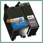 Dell Series 24 Compatible ink Cartridges - 2 Piece Combo