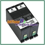 Dell Series 31 Compatible Black ink Cartridge -2 Piece