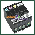 Dell Series 31 Compatible ink Cartridges - 4 Piece Combo