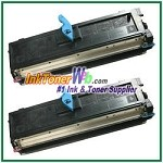 Dell 1125 High Yield Compatible Toner Cartridge - 2 Piece