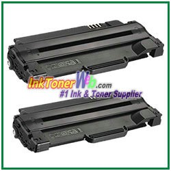 Dell 1130/1130n/1133/1135N Compatible Toner Cartridge 2.5K -2 Piece