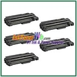 Dell 1130/1130n/1133/1135N Compatible Toner Cartridge 1.5K -5 Piece