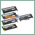 Dell 1230c/1235cn High Yield Black Cyan Magenta Yellow Compatible Toner Cartridges - 5 Piece Combo