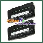 Dell 1600n High Yield Black Toner Cartridge - 2 Piece