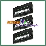 Dell 1600n High Yield Black Toner Cartridge - 3 Piece
