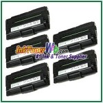 Dell 1600n High Yield Black Toner Cartridge - 5 Piece