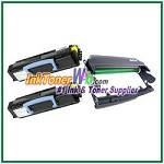 Dell 1700/1710 Compatible Imaging Drum & Toner Cartridges - 3 Piece Combo