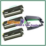 Dell 1720/1720dn Compatible Imaging Drum & Toner Cartridges - 4 Piece Combo