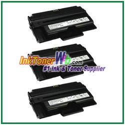 Dell 2335dn High Yield Compatible Toner Cartridge - 3 Piece