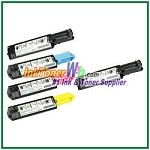 Dell 3010cn Black Cyan Magenta Yellow Compatible Toner Cartridges - 5 Piece Combo