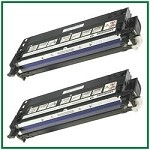 Dell 3110cn/3115cn High Yield Black Compatible Toner Cartridge - 2 Piece