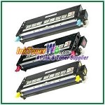 Dell 3110cn/3115cn High Yield Cyan Magenta Yellow Compatible Toner Cartridges - 3 Piece Combo