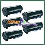 Dell B2360d/ B2360dn/ B3460dn/ B3465dnf Compatible Toner Cartridge - 5 Piece