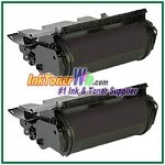 Dell 5230dn/ 5230n/ 5350dn Compatible Toner Cartridge - 2 Piece