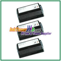 Dell P1500 High Yield Compatible Toner Cartridge - 3 Piece