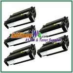 Dell S2500/S2500n High Yield Compatible Toner Cartridge - 5 Piece