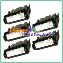 Dell W5300n - 18K Page Yield Compatible Toner Cartridge - 5 Piece