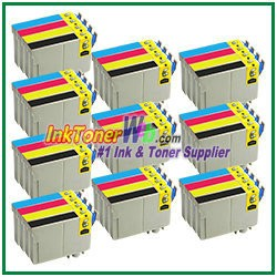 Epson 125 T125120-T125420 Compatible ink Cartridges - 40 Piece Combo