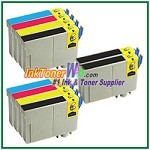 Epson 125 T125120-T125420 Compatible ink Cartridges - 10 Piece Combo