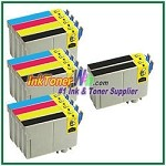 Epson 125 T125120-T125420 Compatible ink Cartridges - 14 Piece Combo
