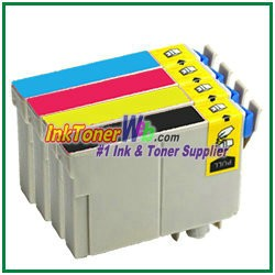 Epson 125 T125120-T125420 Compatible ink Cartridges - 4 Piece Combo