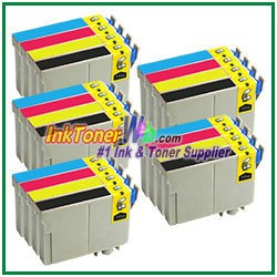 Epson 126 T126120-T126420 Compatible ink Cartridges - 20 Piece Combo