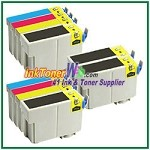 Epson 127 T127120-T127420 Compatible ink Cartridges - 10 Piece Combo