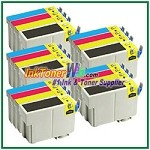 Epson 127 T127120-T127420 Compatible ink Cartridges - 20 Piece Combo