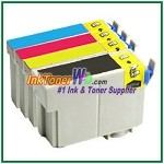 Epson 127 T127120-T127420 Compatible ink Cartridges - 4 Piece Combo