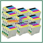 Epson 44 T044120-T044420 Compatible ink Cartridges - 40 Piece Combo