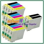Epson 44 T044120-T044420 Compatible ink Cartridges - 14 Piece Combo