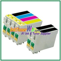 Epson 44 T044120-T044420 Compatible ink Cartridges - 6 Piece Combo