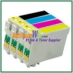Epson 44 T044120-T044420 Compatible ink Cartridges - 4 Piece Combo