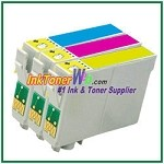 Epson 60 T060220-T060420 Compatible ink Cartridges - 3 Piece Combo