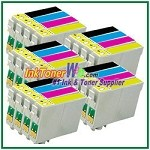 Epson 60 T060120-T060420 Compatible ink Cartridges - 20 Piece Combo