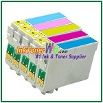 Epson 78 T078220-T078620 Compatible ink Cartridges - 5 Piece Combo