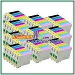 Epson 98 T098120-T098620 Compatible ink Cartridges - 60 Piece Combo