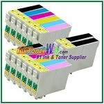 Epson 98 T098120-T098620 Compatible ink Cartridges - 14 Piece Combo