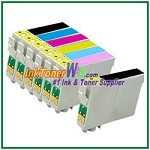 Epson 98 T098120-T098620 Compatible ink Cartridges - 7 Piece Combo