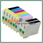 Epson 98 T098120-T098620 Compatible ink Cartridges - 8 Piece Combo